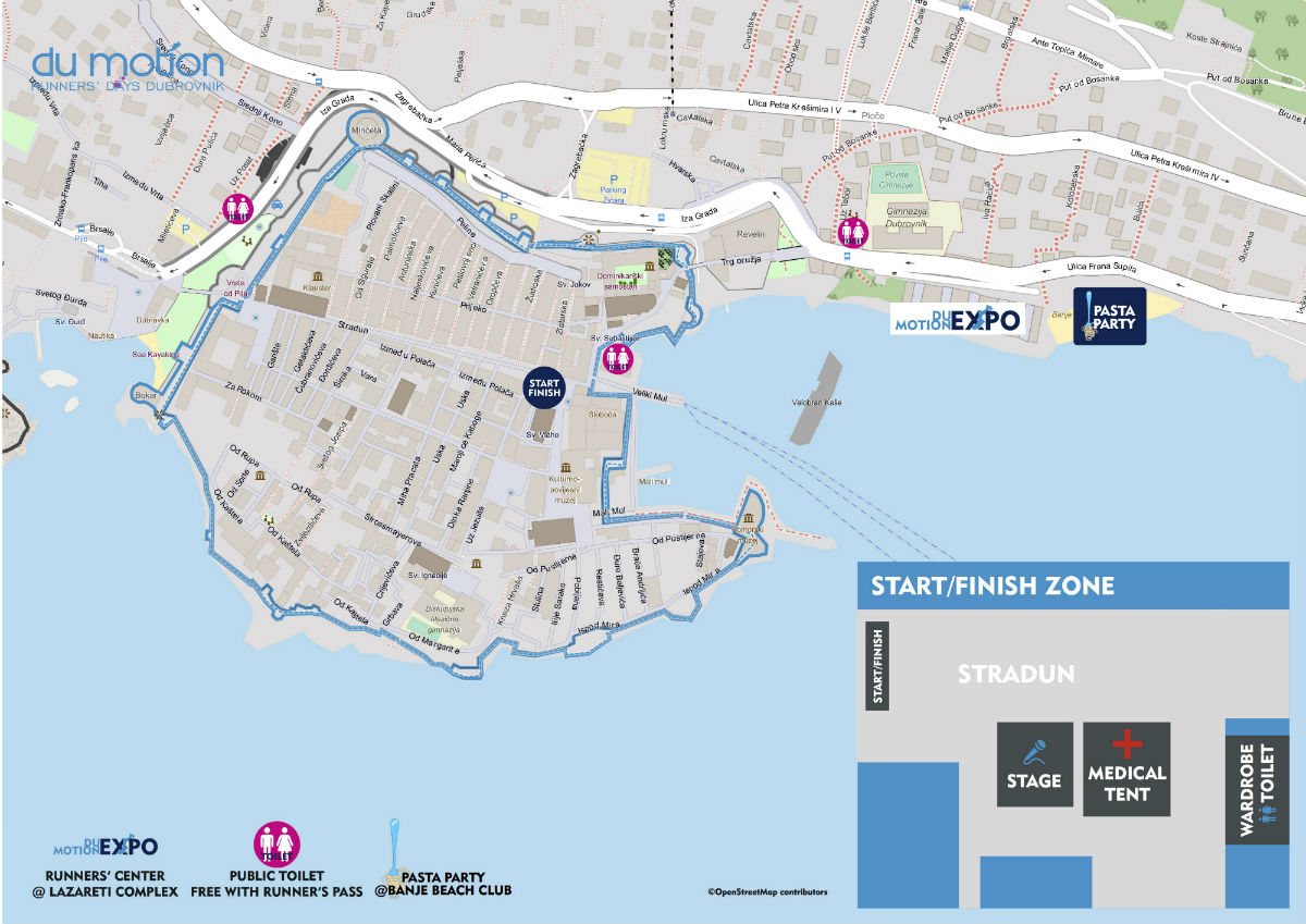 4. Dubrovački polumaraton @ Dubrovnik