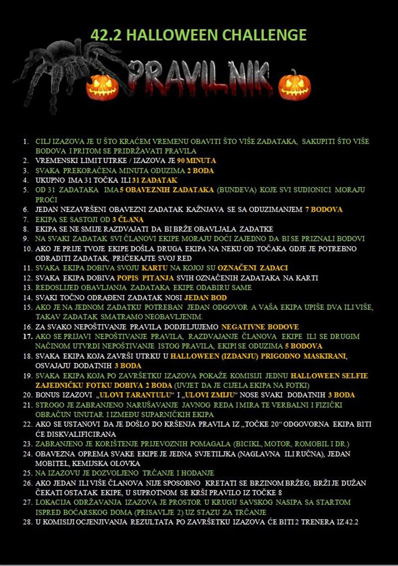 1. 42.2 Halloween Challenge @ Zagreb