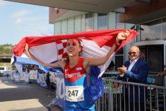 Svjetska prvakinja koja trči s osmjehom
