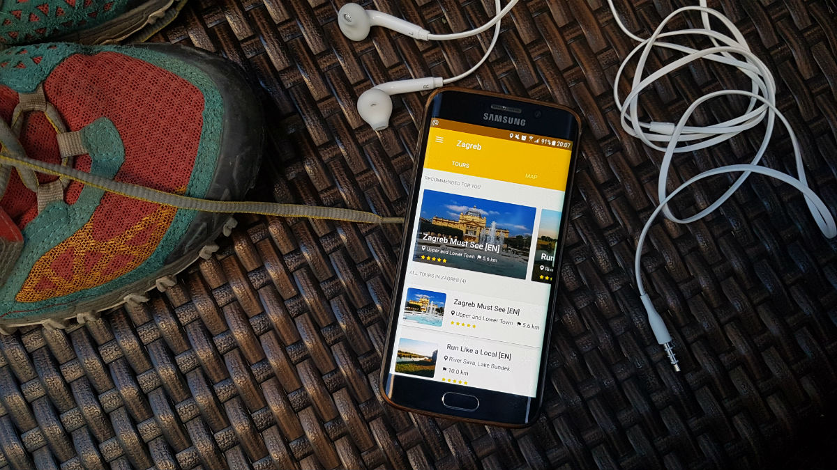 aplikacija za upoznavanje pomoću GPS-a