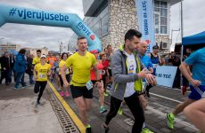 Barbara Belušić i Ivan Dračar skinuli rekorde na utrci riječkim lukobranom
