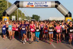 dm ženska utrka: Više od 6.900 sudionika, prikupljeno 47.800 kuna