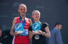 Pobjednici četvrtog Dubrovačkog polumaratona Janez Maroević i Josefin Sjölind-Kohtamäki