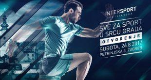 Intersport u subotu otvara novu prodavaonicu u centru Zagreba