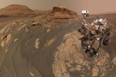 Ima li trailova na Marsu?