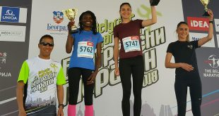 Matea Matošević slavila na polumaratonu u Beogradu