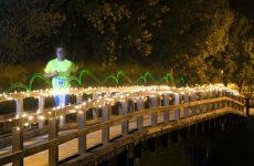 1.500 osvjetljenih trkača trčalo do Mjeseca i natrag