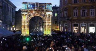 Pulski trkački spektakl uz igru svjetla Visualia Festivala