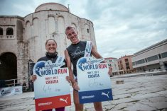 Robert i Željka predvodili 8.000 trkača u Zadru